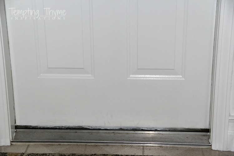 Plywood kickplate & Plywood Kick Plate for an Interior Door DIY | tempting thyme