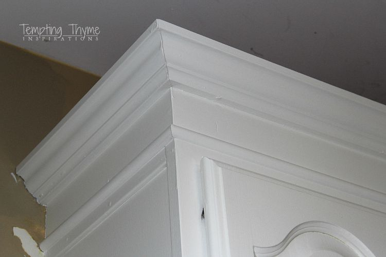 Building Up The Crown Molding On Your Kitchen Cabinets