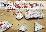 The easiest diy gift that they will LOVE! Peppermint Bark is a favorite for man!