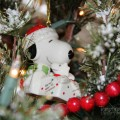 Ceramic Snoopy Ornaments