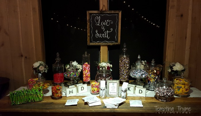 "Wedding""Candy"" Bar"