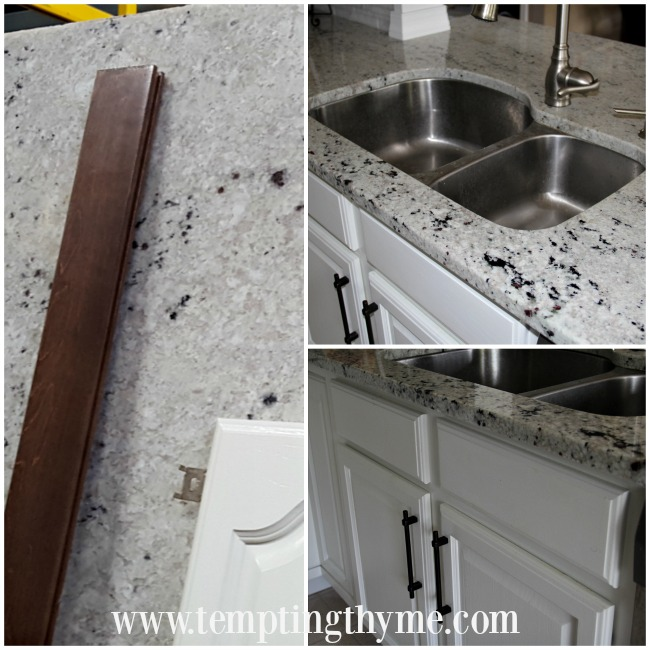 Butterscotch Granite counters