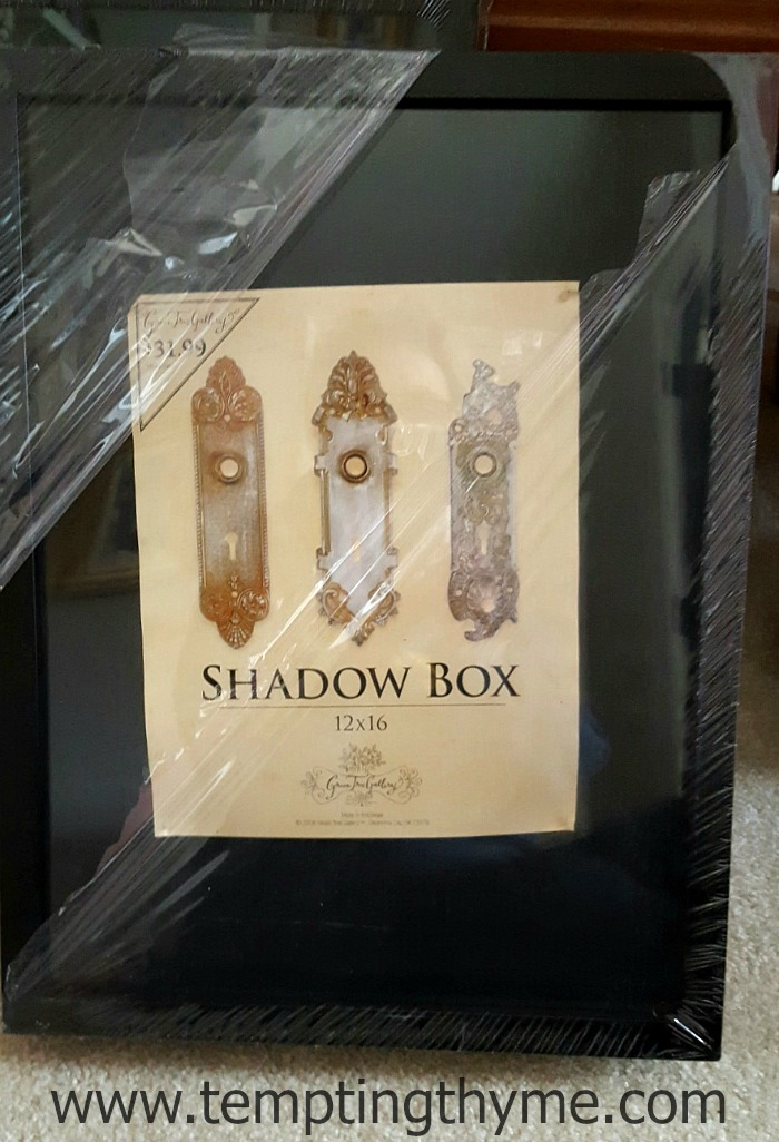 Shadow Boxes at Michaels