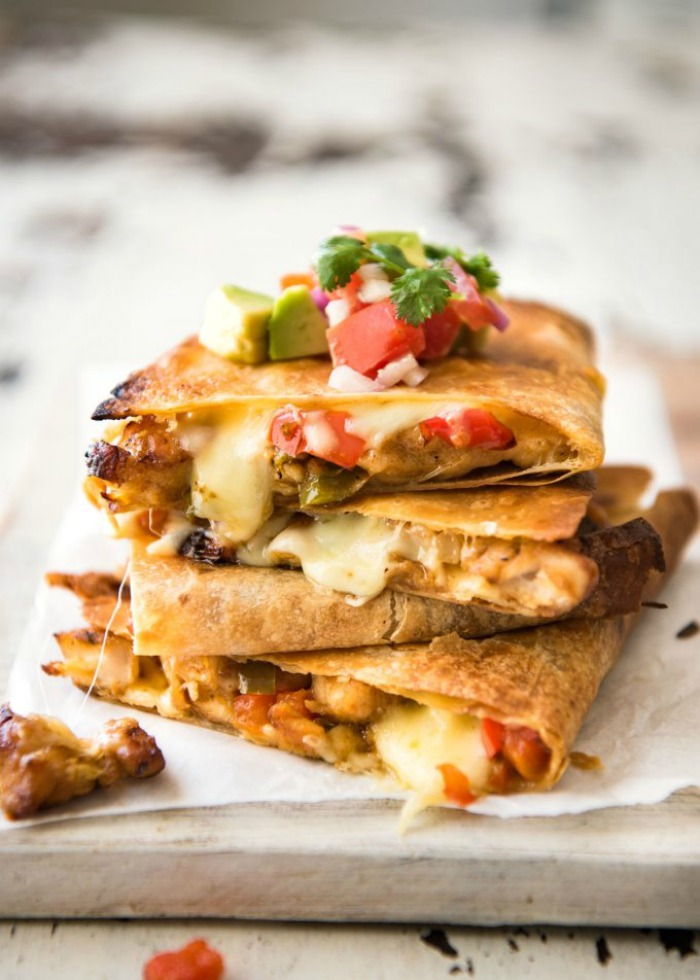 Oven Baked Quesadillas