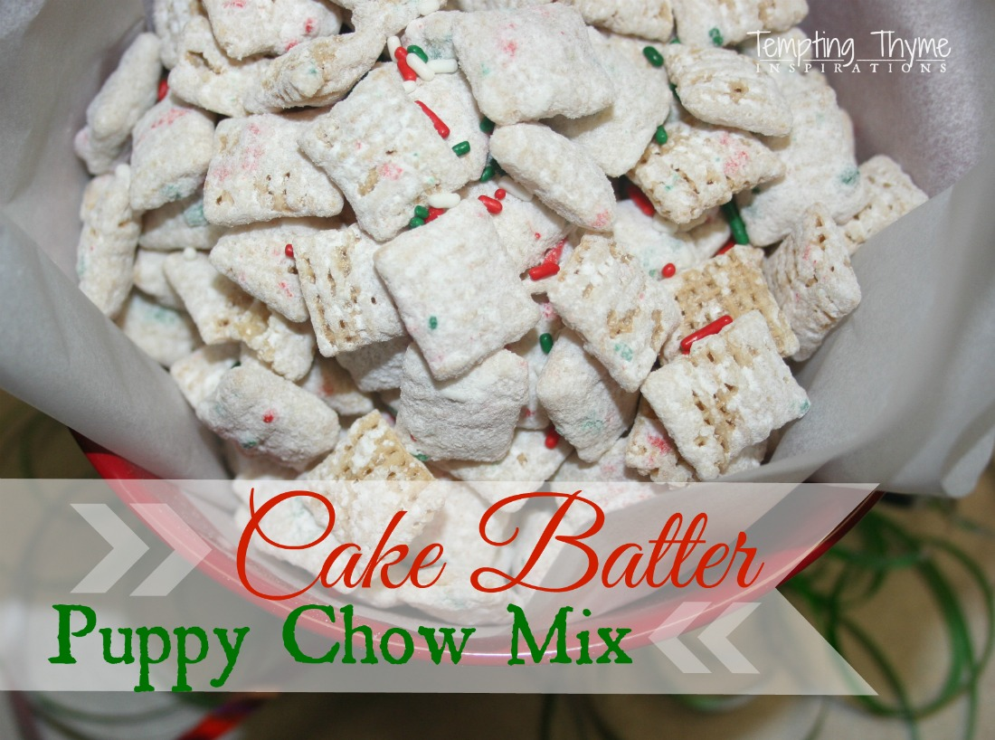 Cake Batter Chex Mix