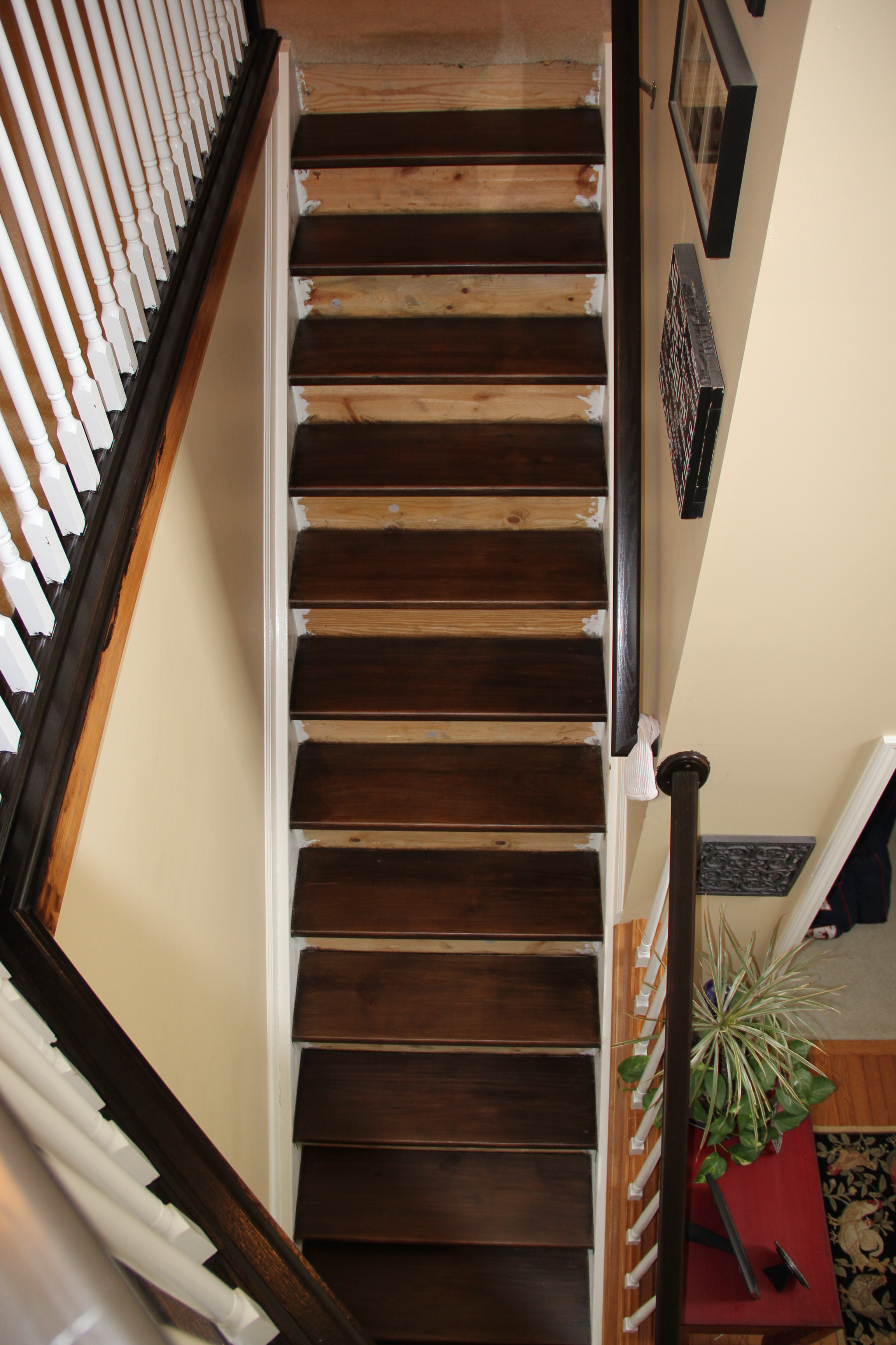 Staining Pine Stair Treads